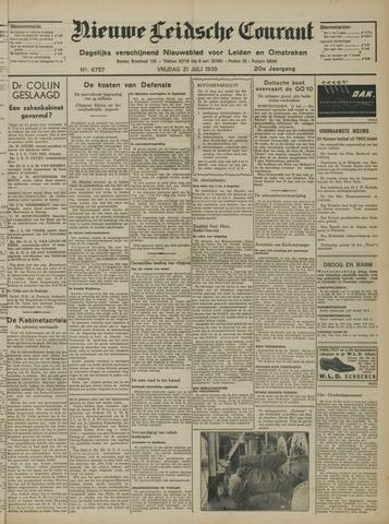 Nieuwe Leidsche Courant 1939-07-21