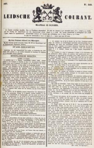 Leydse Courant 1877-10-15