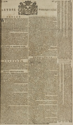 Leydse Courant 1770-05-09