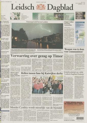 Leidsch Dagblad 1999-09-27