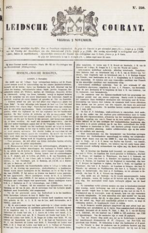 Leydse Courant 1877-11-02