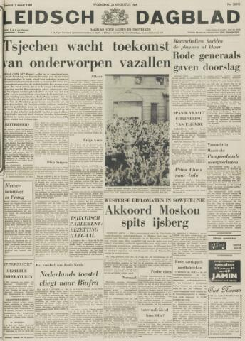 Leidsch Dagblad 1968-08-28