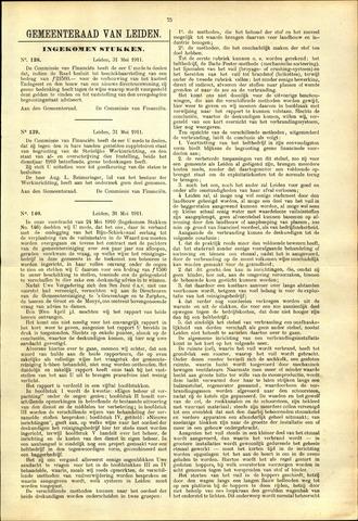 Handelingen van de Raad 1911-05-31