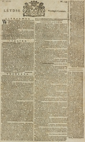 Leydse Courant 1771-12-13