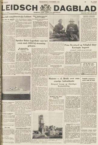 Leidsch Dagblad 1951-11-01