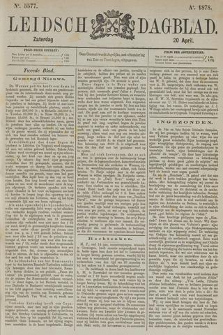 Leidsch Dagblad 1878-04-20