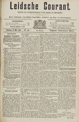 Leydse Courant 1885-05-19