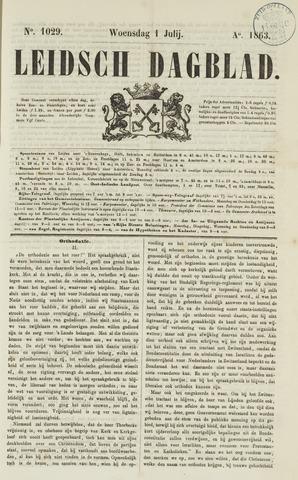 Leidsch Dagblad 1863-07-01