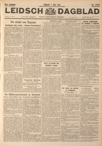 Leidsch Dagblad 1942-07-07