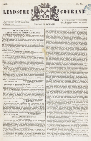 Leydse Courant 1869-01-29
