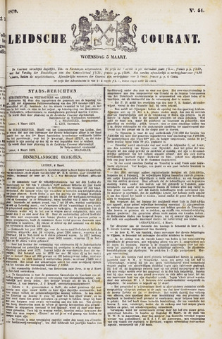 Leydse Courant 1879-03-05