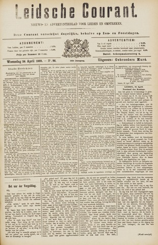 Leydse Courant 1889-04-24