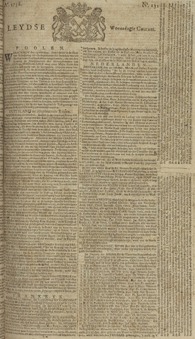 Leydse Courant 1758-11-01