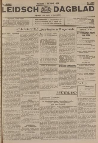 Leidsch Dagblad 1938-12-07