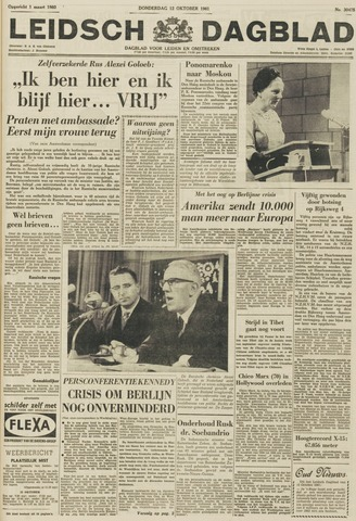 Leidsch Dagblad 1961-10-12