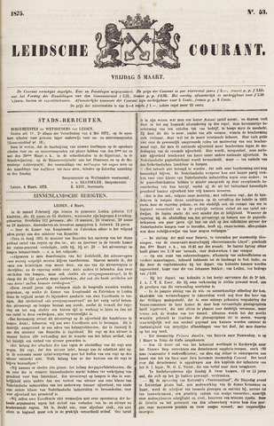 Leydse Courant 1875-03-05