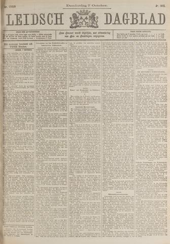 Leidsch Dagblad 1915-10-07