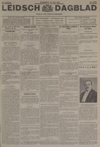 Leidsch Dagblad 1935-07-25