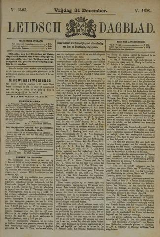 Leidsch Dagblad 1880-12-31