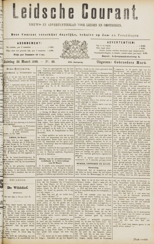 Leydse Courant 1890-03-22