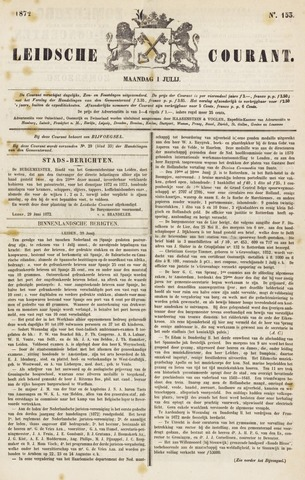 Leydse Courant 1872-07-01