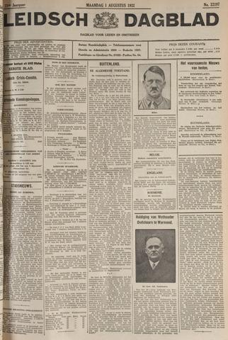 Leidsch Dagblad 1932-08-01