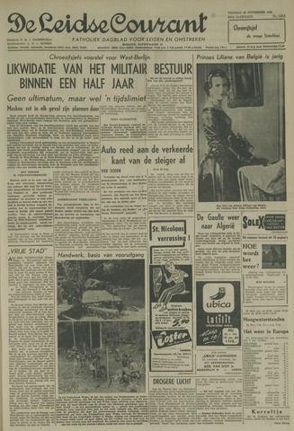 Leidse Courant 1958-11-28