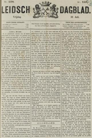 Leidsch Dagblad 1868-07-31