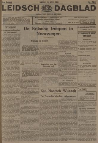 Leidsch Dagblad 1940-04-16