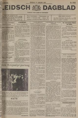 Leidsch Dagblad 1933-01-31