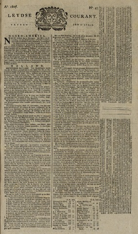 Leydse Courant 1807-04-10