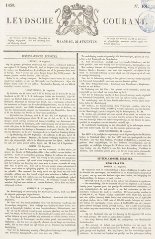 Leydse Courant 1850-08-26