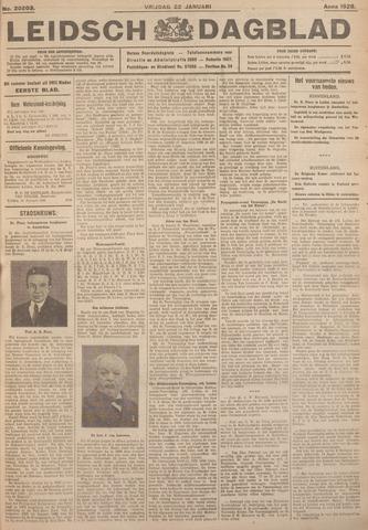 Leidsch Dagblad 1926-01-22