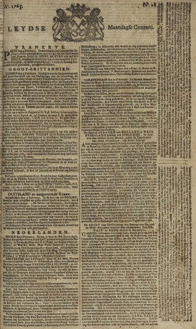 Leydse Courant 1765-02-11