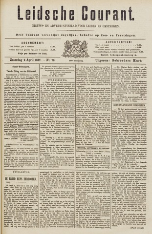 Leydse Courant 1887-04-02