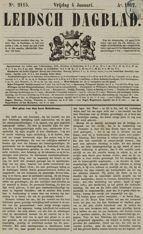 Leidsch Dagblad 1867-01-04