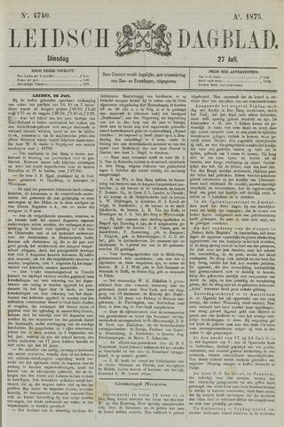 Leidsch Dagblad 1875-07-27