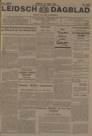 Leidsch Dagblad 1940-03-20