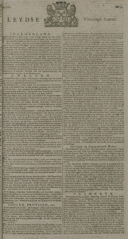 Leydse Courant 1727-07-30