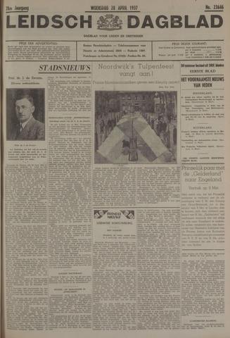 Leidsch Dagblad 1937-04-28