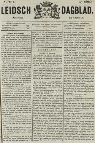 Leidsch Dagblad 1868-08-22