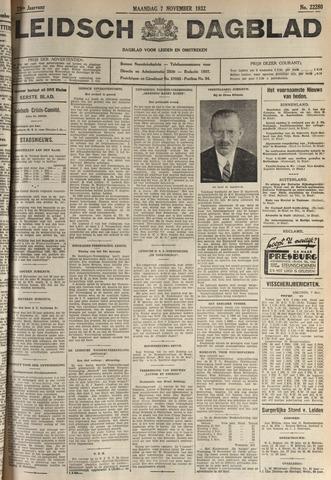 Leidsch Dagblad 1932-11-07