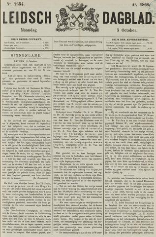 Leidsch Dagblad 1868-10-05