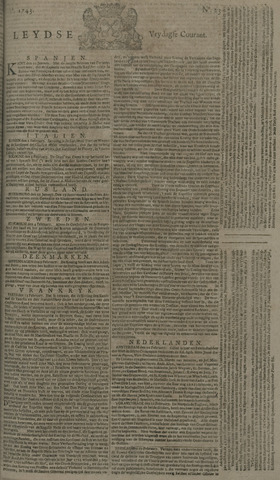 Leydse Courant 1743-02-22