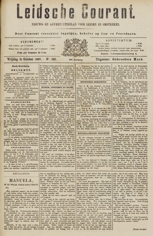 Leydse Courant 1887-10-21