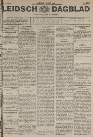 Leidsch Dagblad 1933-03-04