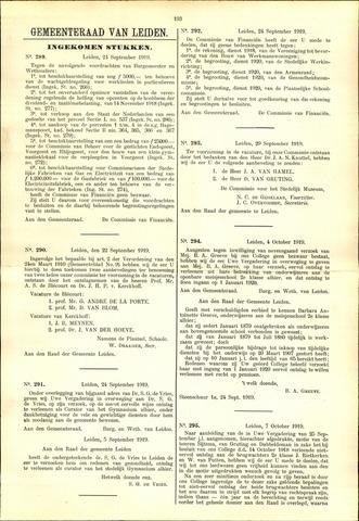 Handelingen van de Raad 1919-09-24