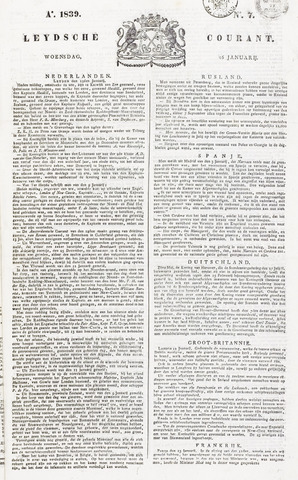 Leydse Courant 1839-01-16