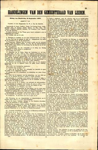 Handelingen van de Raad 1873-09-18