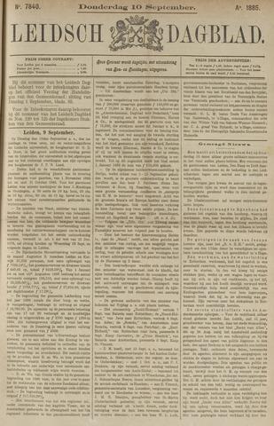 Leidsch Dagblad 1885-09-10